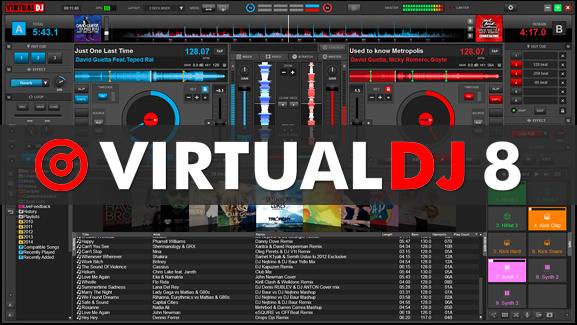 Virtual DJ 8.2 Crack + Serial Key Download Full Free